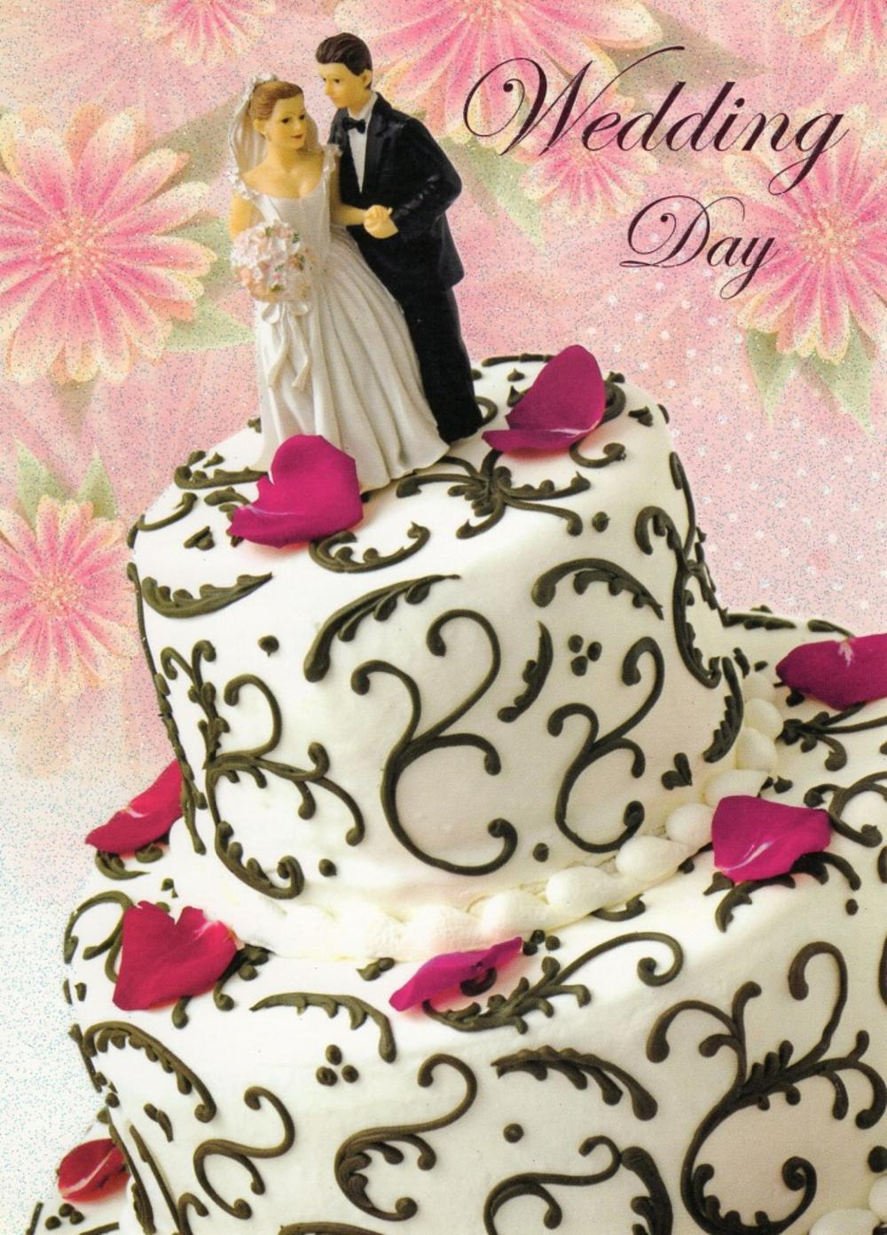 Wedding Day Special Couple Greeting Card