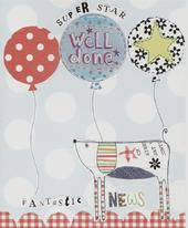 Well Done Fantastic News Paper Salad Greeting Card