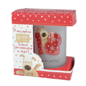 Boofle 18th Birthday Glass Tankard In A Gift Box
