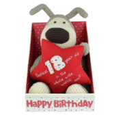 Boofle 18th Birthday Large Plush Toy In A Gift Box