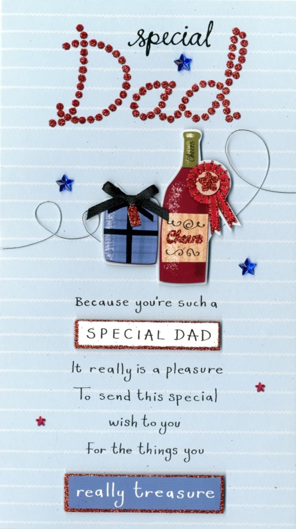 Special Dad Birthday Greeting Card
