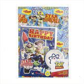 Toy Story Birthday Card & Wrapping Paper Set