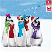 Pack of 5 Penguin Children With Cancer Charity Christmas Cards