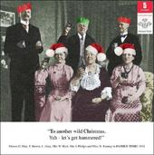 Pack of 5 Retro Humour Prince's Trust Charity Christmas Cards