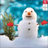 Pack of 5 Snowman Prince's Trust Charity Christmas Cards