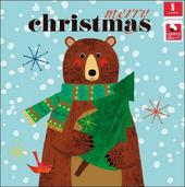 Pack of 5 Cute Bear Children With Cancer Charity Christmas Cards