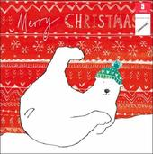Pack of 5 Polar Bear Samaritans Charity Christmas Cards
