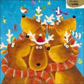 Pack of 5 Reindeers Shelter & Crisis Charity Christmas Cards
