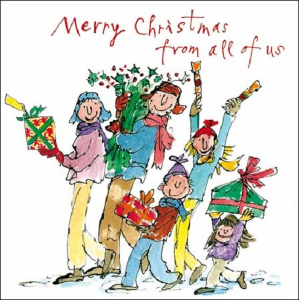Pack Of 5 Quentin Blake Marie Curie Cancer Care Charity Christmas