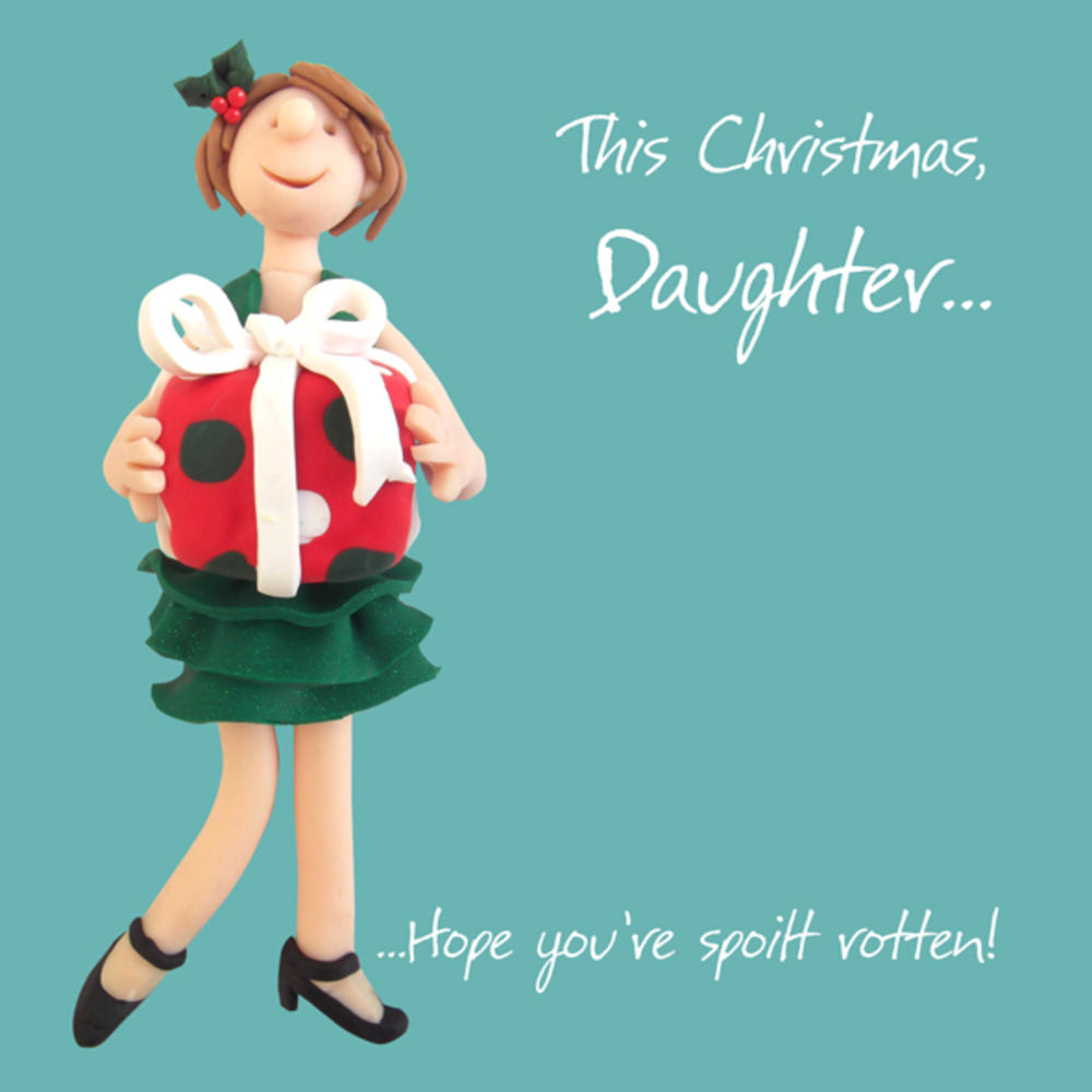 This Christmas, Daughter Greeting Card