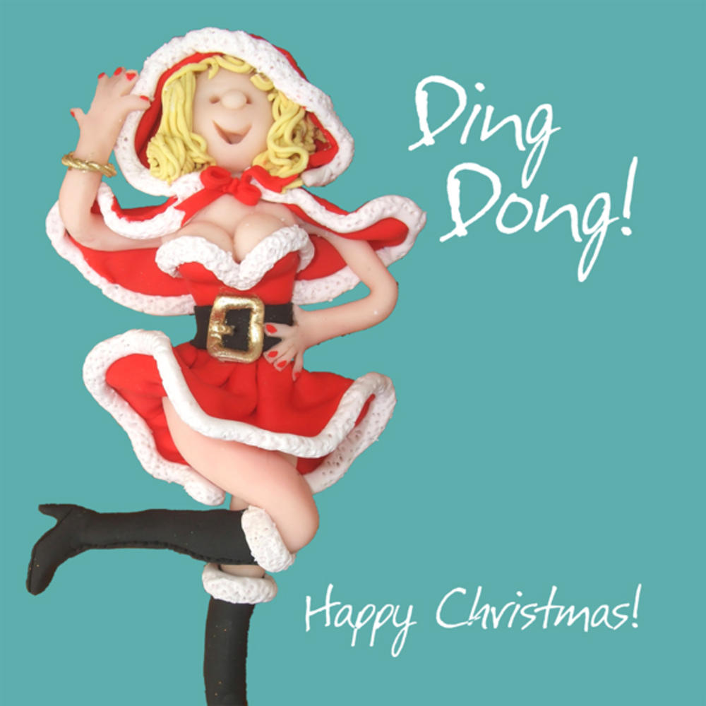 Ding Dong Christmas Greeting Card