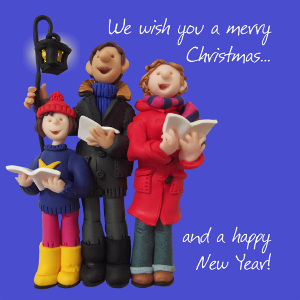 We Wish You A Merry Christmas Greeting Card