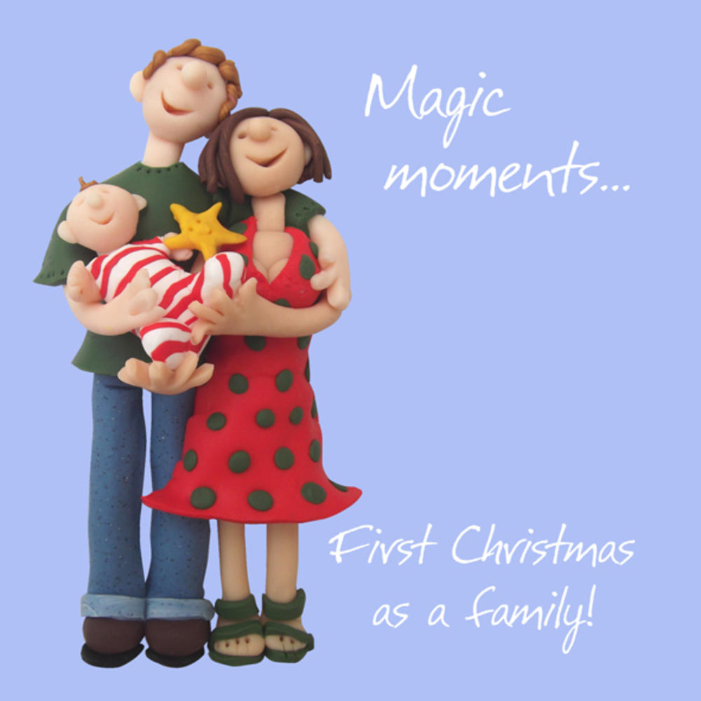 First Family Christmas Greeting Card