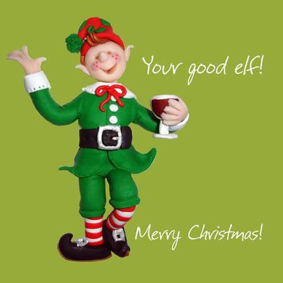 Your Good Elf Christmas Greeting Card