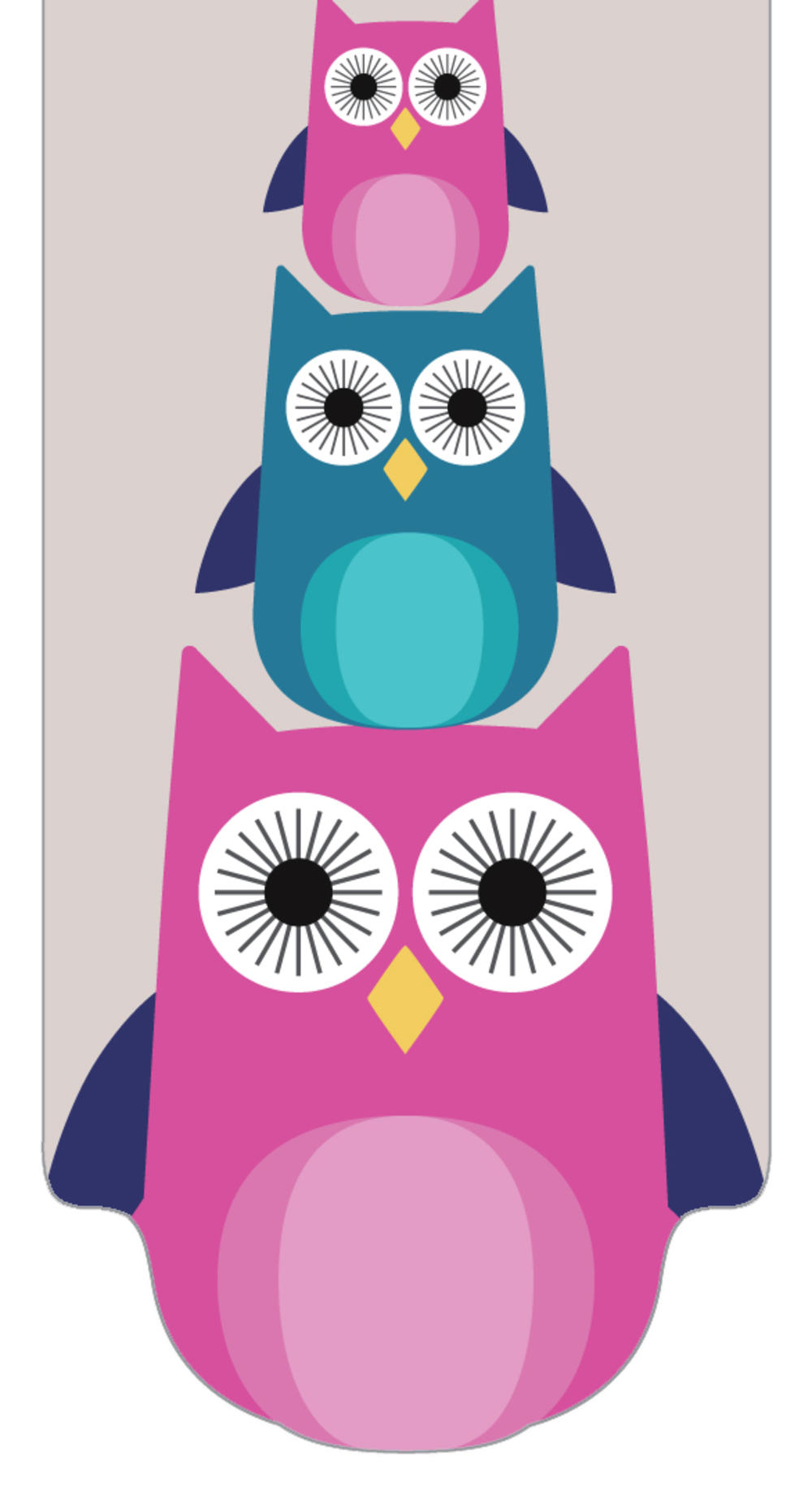 Pretty Owls Magnetic Bookmark Gift Idea