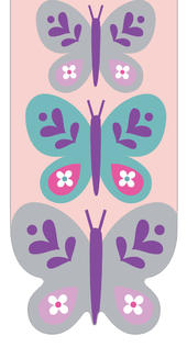 Pretty Butterflies Magnetic Bookmark Gift