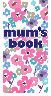 Mums Book Magnetic Bookmark Gift