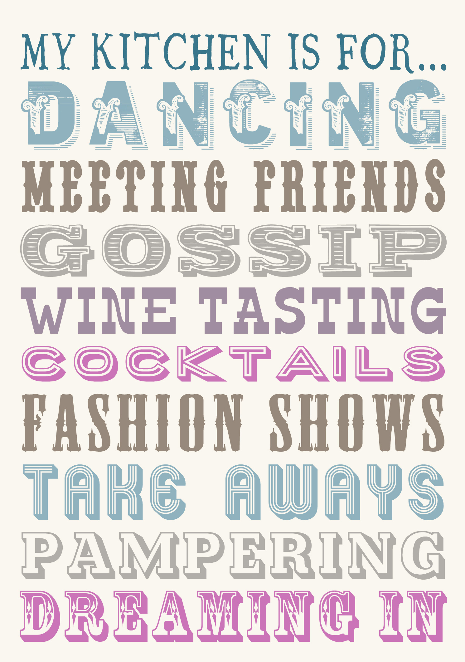 My Kitchen Is For Dancing Tea Towel | Gifts | Love Kates