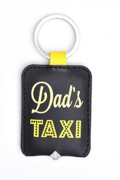 Dad's Taxi  LED Key Light Keyring