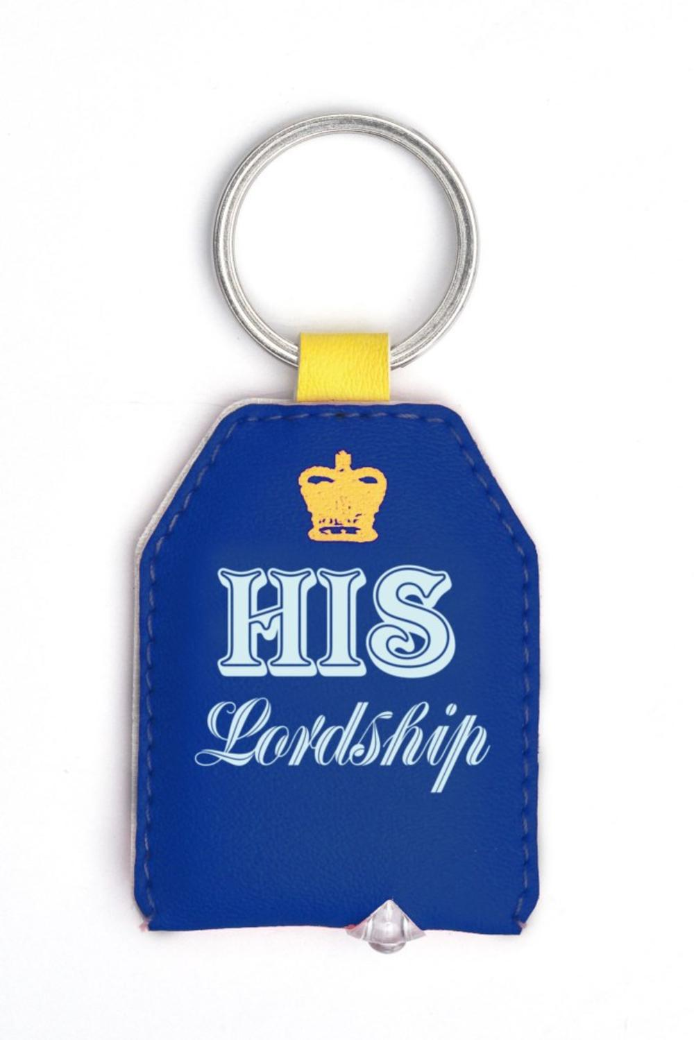 His Lordship LED Key Light Keyring