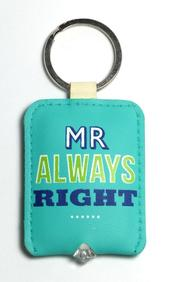 Mr Always Right LED Key Light Keyring