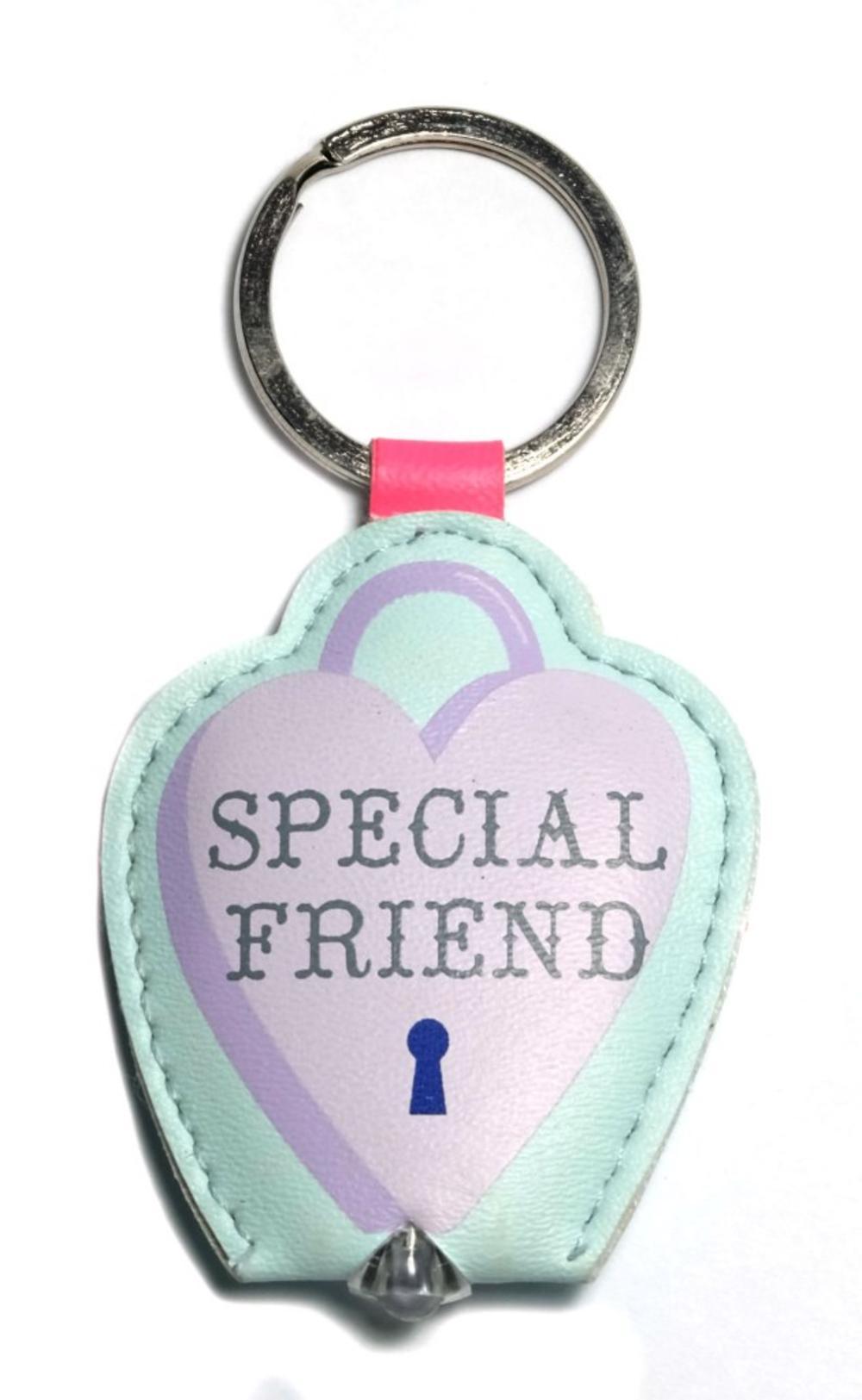 Special Friend LED Key Light Keyring
