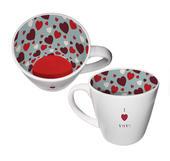 I Love You Ceramic Inside Out Mug