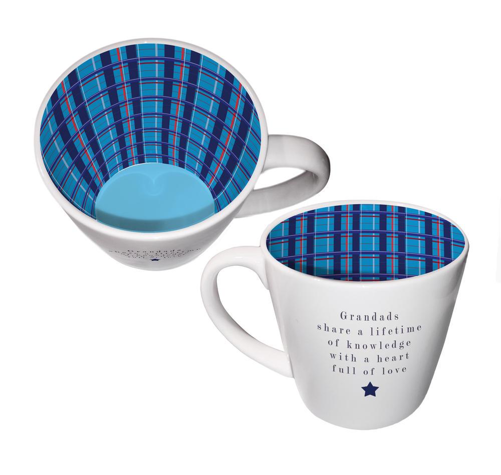 Grandads Share A Lifetime Of Knowledge Ceramic Inside Out Mug