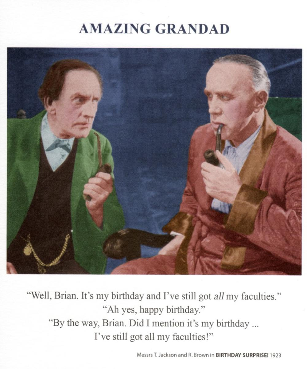 Amazing Grandad Birthday Greeting Card