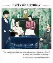 Happy 18th Birthday Greeting Card