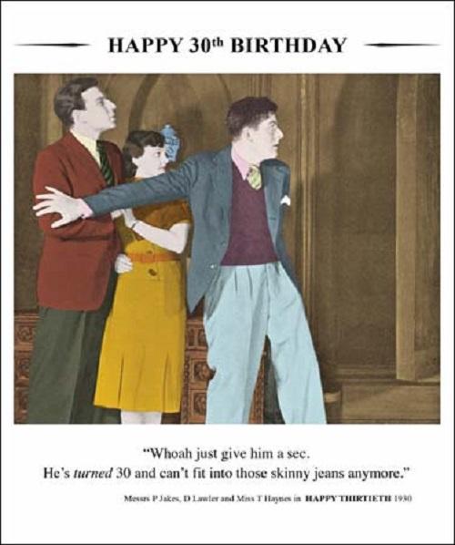 Happy 30th Birthday Greeting Card Cards Love Kates