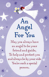 An Angel For You Heartwarmers Keepsake Credit Card & Envelope