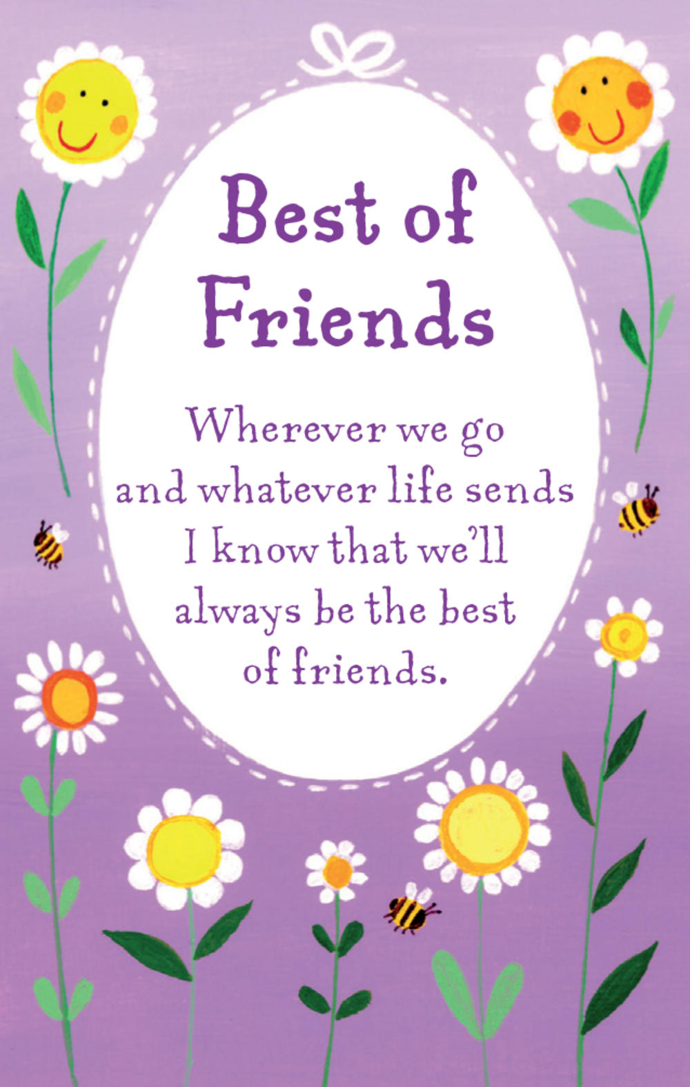 Best Of Friends Heartwarmers Keepsake Credit Card & Envelope