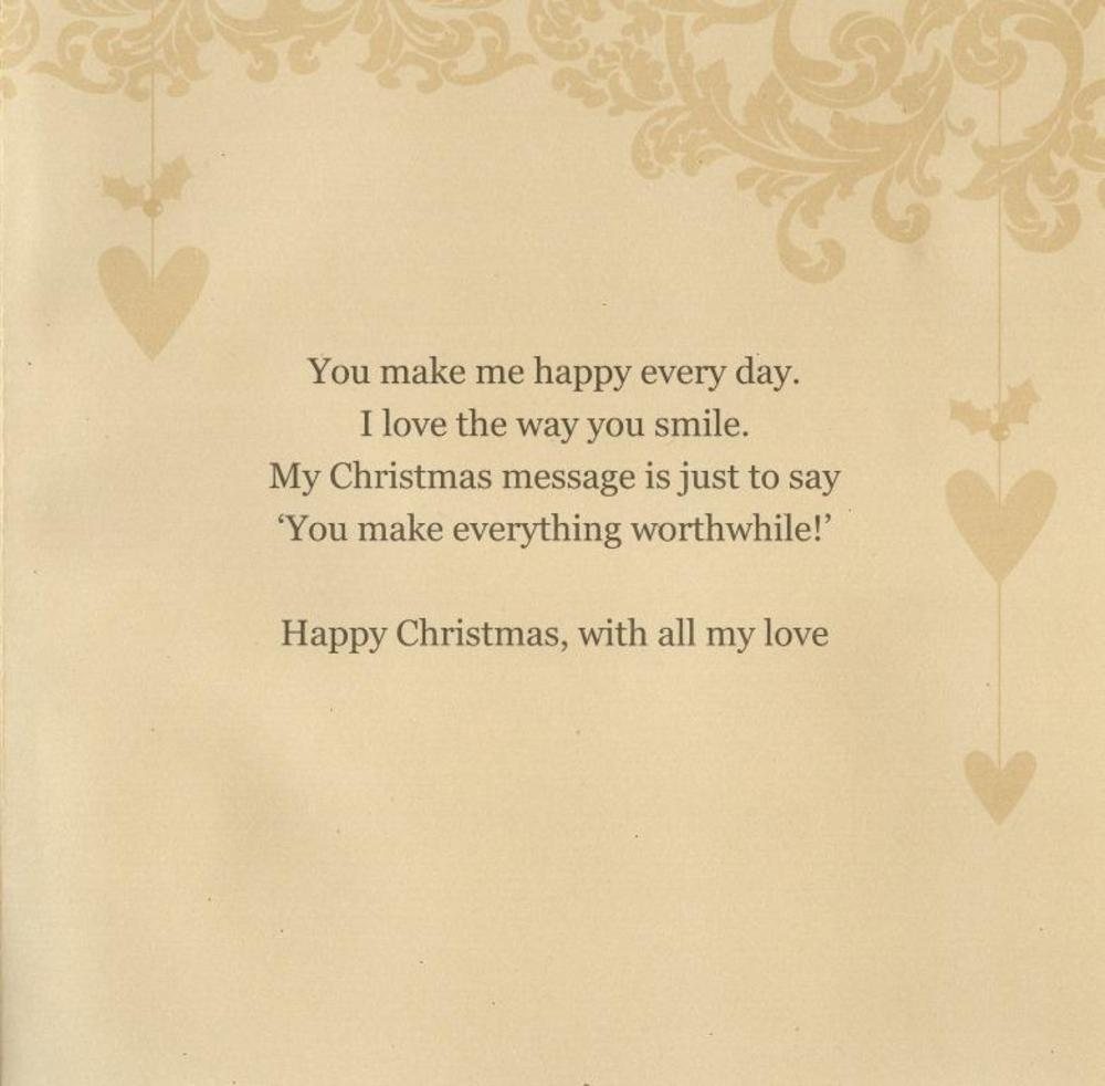 To the one i love special luxury handmade christmas card cards thumbnail 2 kristyandbryce Choice Image