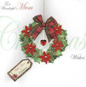 To A Wonderful Mum Special Luxury Handmade Christmas Card