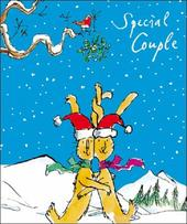 Special Couple Quentin Blake Christmas Greeting Card