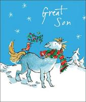 Great Son Quentin Blake Christmas Greeting Card