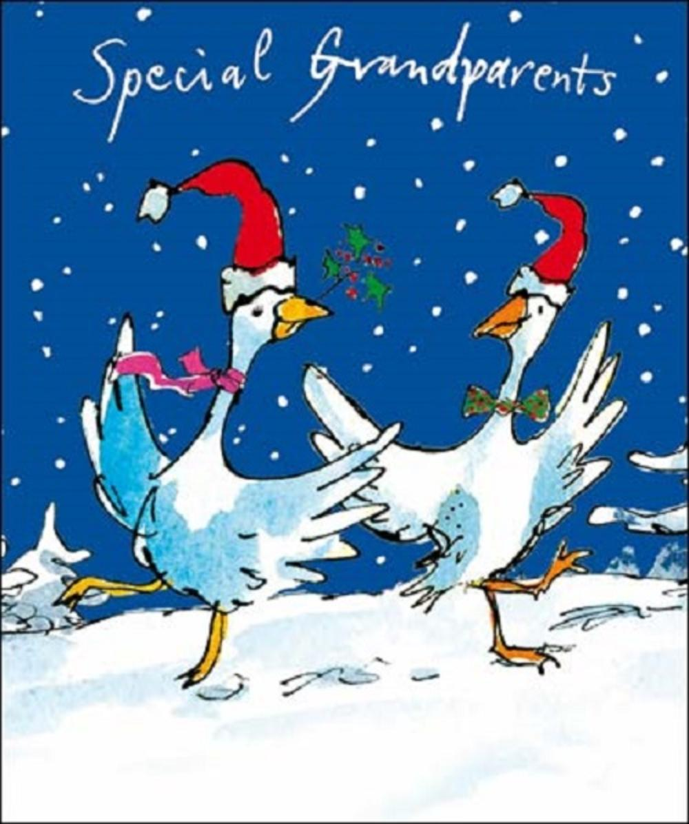 Special Grandparents Quentin Blake Christmas Card