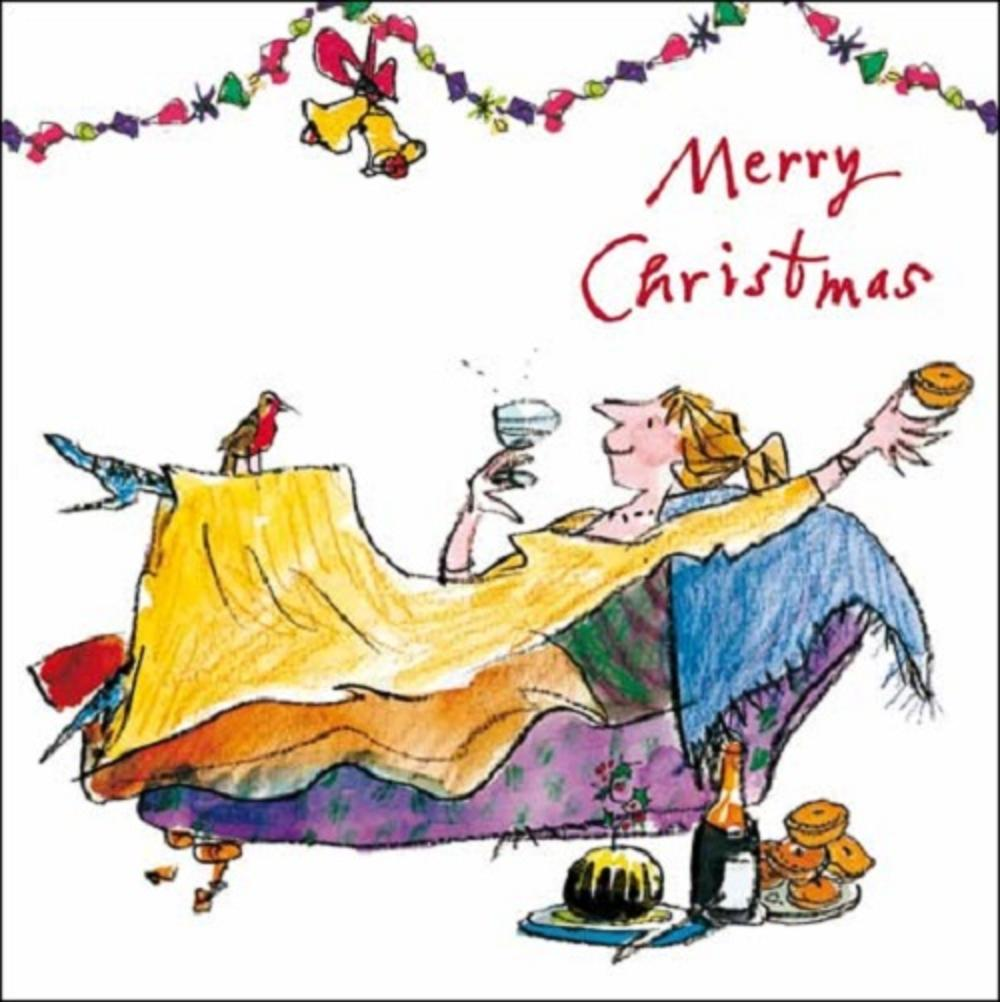 Merry Christmas Quentin Blake Christmas Card