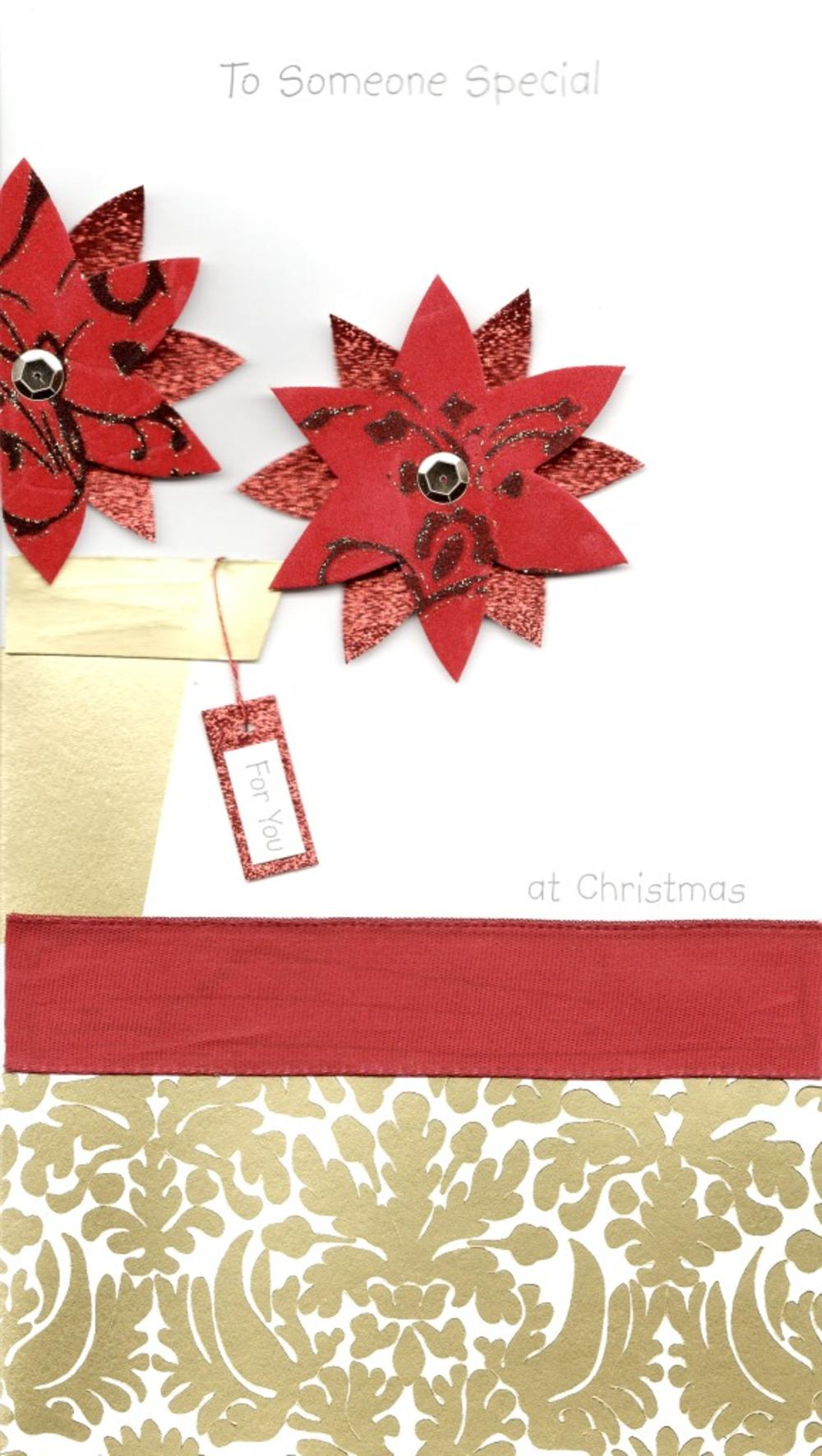 To Someone Special Luxury Handmade Christmas Card