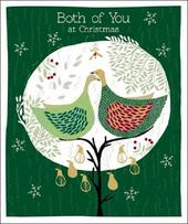 To Both Of You Emma Grant Christmas Greeting Card