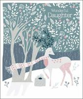 Wonderful Daughter Emma Grant Christmas Greeting Card