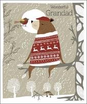 Wonderful Grandma Emma Grant Christmas Greeting Card