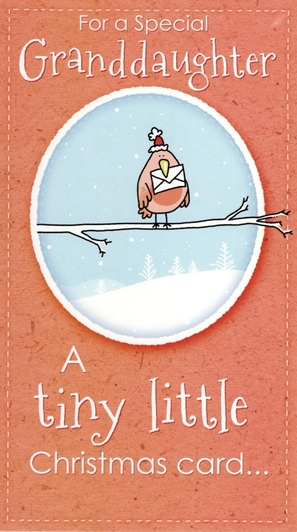 Special Granddaughter Big Hug Christmas Card | Cards