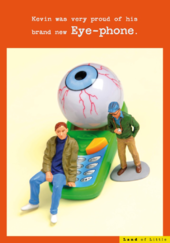 Brand New Eye Phone Funny Birthday Card