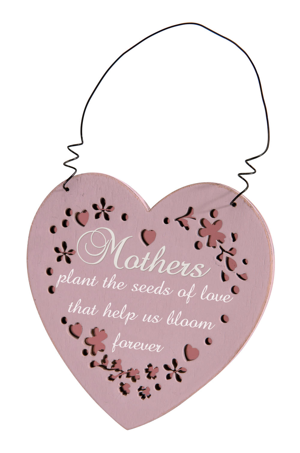 Mothers Plant The Seed Heart Hanging Plaque Gift