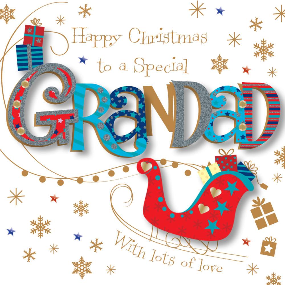 Special Grandad Christmas Greeting Card