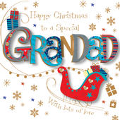 Special Grandad Christmas Greeting Card
