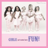 Betsy Cameron Girls Wanna Have Fun Greeting Card