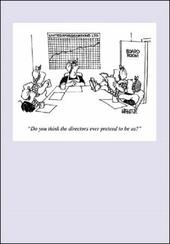 Punch Directors Cartoon Humour Greeting Card
